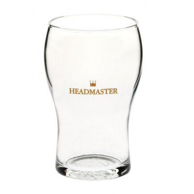 Crown Washington Headmaster Nucleated Beer Glass 285ml